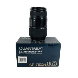 Quantaray 70-300mm 1:4-5.6 LDO Autofocus Zoom for Minolta AF 25-166-4546