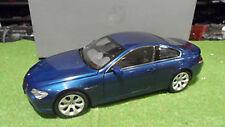 1:18 KYOSHO  BMW 6er Coupé (E63) mysticblau-met. Werbemodell 80430153284  in OVP