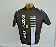 EXOTIC CYCLING TEAM CYCLING JERSEY MENS SIZE L