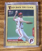 2020 Phillies Topps Now TBTC Turn Back the Clock - Steve Carlton Card # 96