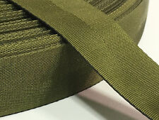 "1.25"" Inch MilSpec Military Webbing Binding MIL-W-4088 OD7 PER YARD"