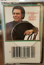 Christmas With Johnny Mathis - Columbia Records - Vintage CASSETTE - NEW