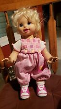 "1998 Mattel Toy Biz Come to me Baby Crawl n Walk Doll Approx. 16"" Tall"