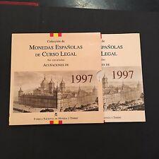 ESPAÑA 1997,CARTERA DE MONEDAS,8 MONEDAS UNC,