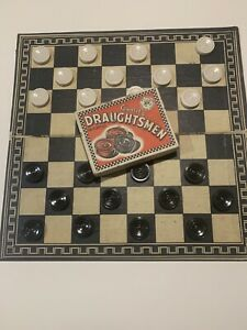Quality Draughtsmen Vintage Draights Board Game