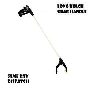 LONG REACH GRABBER REACHER LITTER PICKER HELPING HAND HELD PICK UP TOOL 74CM