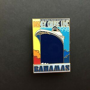 DCL Vintage Travel Poster Collection Bahamas 3D Disney Pin 46021