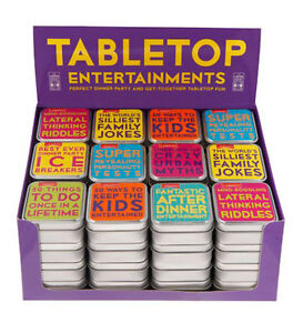 Tabletop Trivia & Entertainment Family Quiz Fun Dinner Party After Dinner Games