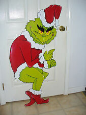 GRINCH THAT STOLE THE CHRISTMAS LITS. DECOR. YARD ART