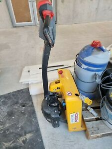 Used electric pallet truck