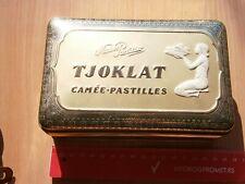 TJOKLAT CAMÉE PASTILLES VINTAGE TIN BOX METAL CASE TABLETS AMSTERDAM NETHERLAND