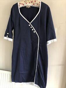 Lindy Bop Wiggle Dress Size 22 18-22