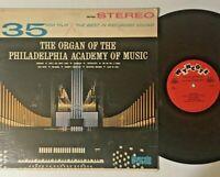 The Organ of the Philadelphia Academy of Music Vinyl Record LP William Whitehead