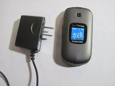 GREAT PREPAID VERIZON Samsung Gusto 2 u365 Camera CDMA Bluetooth Flip Cell Phone