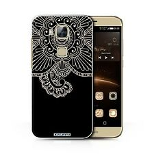 STUFF4 Case/Cover for Huawei G8/Henna Tattoo/Flower
