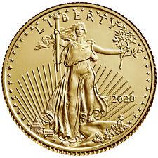 New Listing2020 $5 Gold American Eagle 1/10 oz. Brilliant Uncirculated