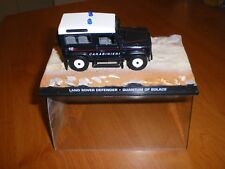 VOITURE COLLECTION JAMES BOND - 1/43 - LAND ROVER DEFENDER - QUANTUM OF SOLACE