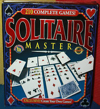 Solitaire Master PC CD-ROM CIB