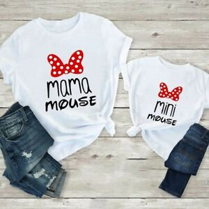 Mama Mouse Mini Mouse Mother and daughter matching t shirt/ gift ideas