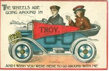 Troy, OH The Wheels are Going around in Troy 1913