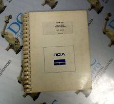 FIDIA CNC GRAPHICS WORKSTATION USER MANUAL