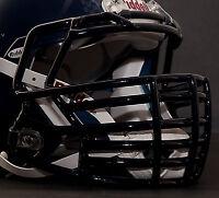 *CUSTOM* SEATTLE SEAHAWKS Riddell SPEED Football Helmet Facemask - NAVY BLUE