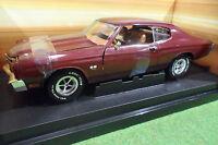 CHEVROLET CHEVELLE SS 454 de 1970 marron 1/18 AMERICAN MUSCLE ERTL 32758 voiture