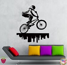 Wall Stickers Vinyl Decal City Biker Urban Decor Extreme Street Sport  (z2114)