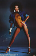 POSTER: IMAN - SEXY FEMALE MODEL -       FREE SHIPPING !   #3037      LW3 O