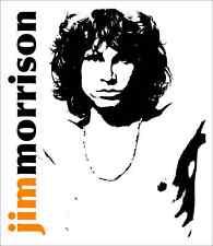 "Jim Morrison The Doors Rock Metal Music Car Bumper Window Sticker Decal 4""X5"""
