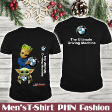 BMW X5M-X6M-M5-M8/Top Men's US 2D T-Shirt/Groot-Yoda/Logo In The Back/Hot Gift