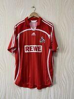 FC KOLN 2006 2007 HOME FOOTBALL SHIRT SOCCER JERSEY ADIDAS 094457 sz XL