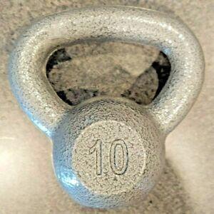 Weider 10 LB Kettlebell Workout Gym Weight