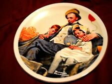 """Norman Rockwell """"Home from The County Fair"""" Collectible Plate"""