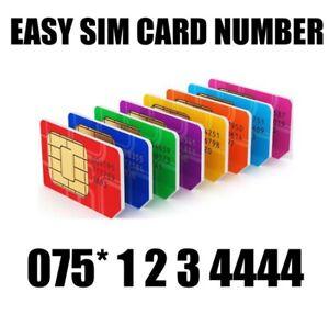 GOLD EASY VIP MEMORABLE MOBILE PHONE NUMBER DIAMOND PLATINUM SIMCARD123 4444