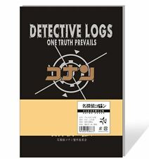 New Anime Note Book Note Pad Detective Conan Cosplay Detective Logs