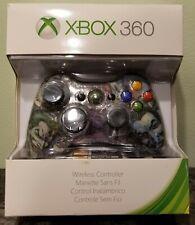 Xbox 360 Wireless Black Custom Real Joker Comic Skin