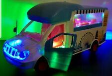 FASTFOOD BURGER VAN CAR BUMP AND GO DOORS OPEN TOY LED LIGHTS MUSIC GIRLS TOYS