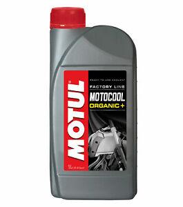 Motul Motocool Factory Line Liquido Refrigerante Moto -35°C +136°C 1 Litro