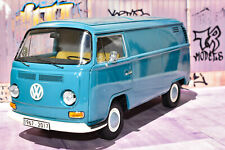 "Schuco VW T2a Van ""Kastenwagen"" Blue No. 45 001 9700"