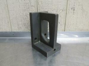 """8-1/4"""" x 4-1/2"""" x 5-1/4"""" Steel Machinist Right Angle Plate Setup Table Block"""