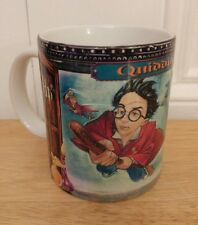 2000 Harry Potter Quidditch Coffee Mug Sorcerers Stone Rare