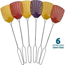 Bug & Fly Swatter – Extra Long Handle– Indoor / Outdoor– Pest Control flyswatter