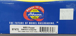 Athearn #97470 - HO Scale - 5-Pack NRG Power BethGon Coalporter Cars