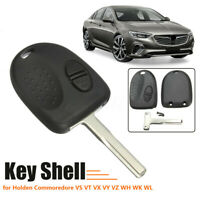 2 Button Remote Key Fob Case She Fit Hoden Commodore VS VX VY VZ WH WK    # +