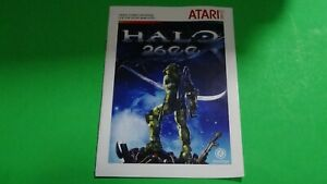 Halo 2600 - Homebrew Repro Game Manual Only for the Atari 2600