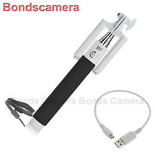 Dispho Foldable all-in-one Bluetooth Selfie Monopod for Android iPhone HTC black