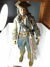 "PIRATES OF THE CARIBBEAN TALKING CAPTAIN JACK SPARROW 15"" TALL ACTION FIGURE"