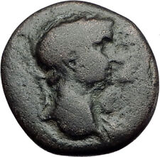 CLAUDIUS & AGRIPPINA Junior 49AD Authentic Ancient Roman Ephesus Coin i63764