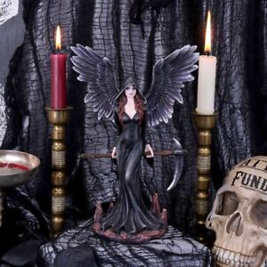 Take my Soul Gothic Female Reaper & Scythe Figurine 23.5cm Nemesis Now D5125R0